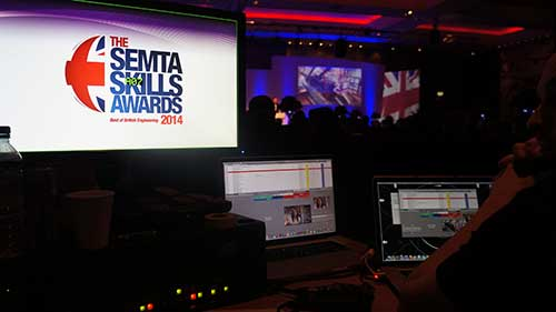 Conference production from Semta Skills Awards