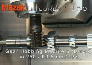 Mazak i-200 Gear Cutting