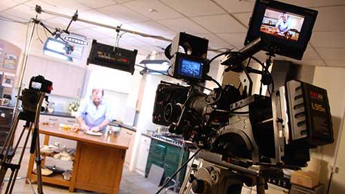 Corporate Video Dick Strawbridge filming